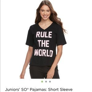 """Rule The World"" Tee"
